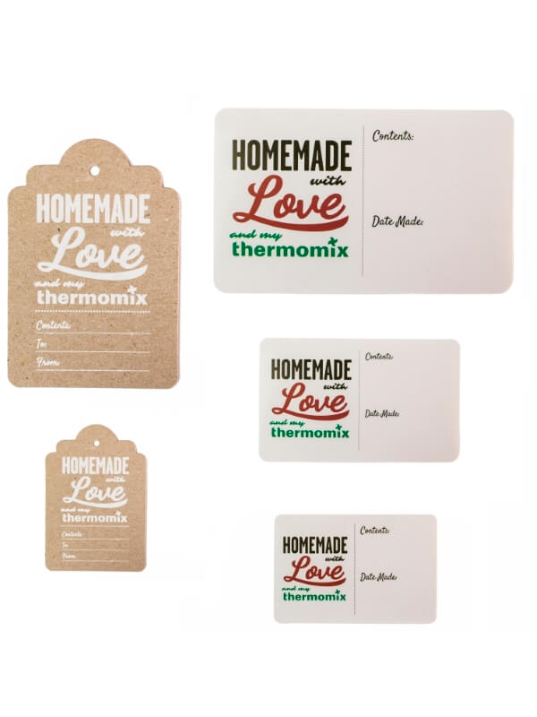 Thermomix Homemade Gift Tags and Stickers Pack