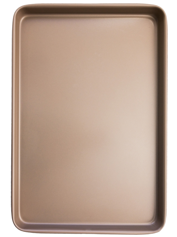 Large rose gold oven tray