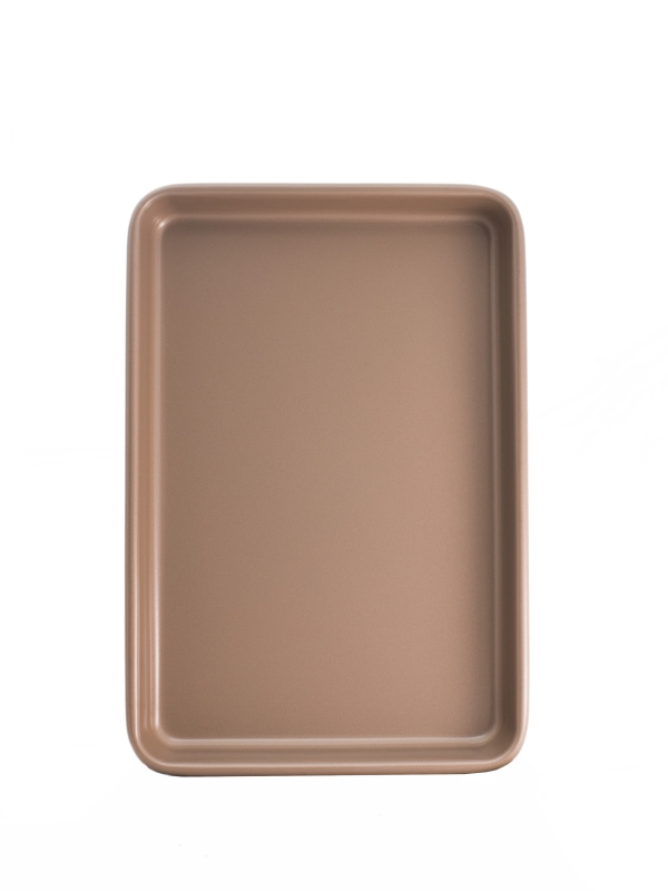 Small rose gold oven tray
