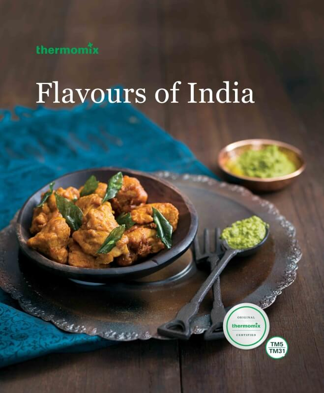 Flavours of India cookbook TM5/TM31