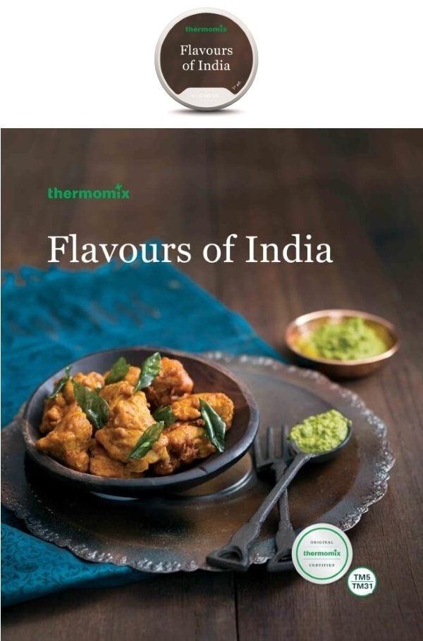 Flavours of India Cookbook and Chip Pack