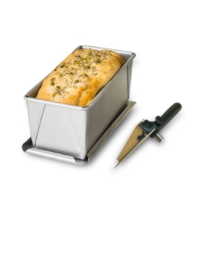 Bread Tin & Knife Bundle