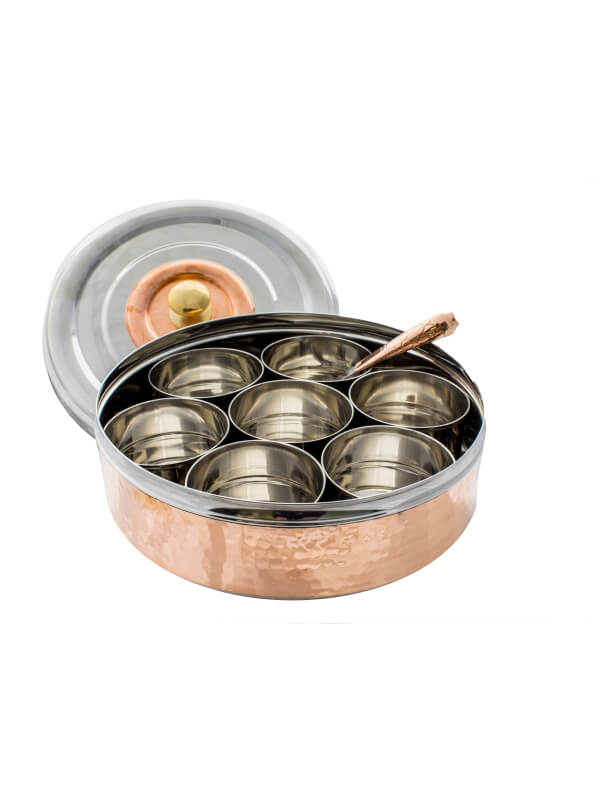 Masala dabba Indian spice tin