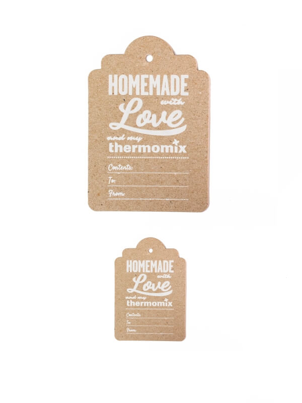 Thermomix ® Homemade Gift Tags