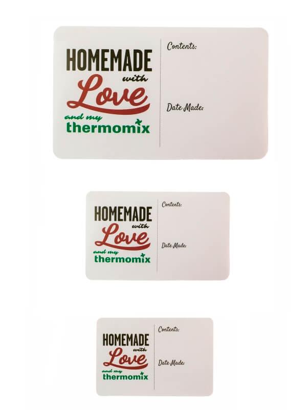 Thermomix ® Homemade Gift Stickers