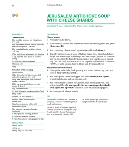 Vegetarian Kitchen Cookbook and Recipe Chip Pack